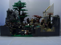 Lego Rivendell/Council of Elrond (Lotso Psychobear) Tags: lego lord rings council rivendell elrond moc 79006