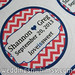 """Modern and Fun Chevron Wedding Favor Labels in Coral and Navy Blue Love is Sweet <a style=""""margin-left:10px; font-size:0.8em;"""" href=""""http://www.flickr.com/photos/37714476@N03/11968817443/"""" target=""""_blank"""">@flickr</a>"""