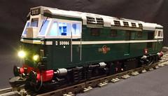 Class 27 (bricktrix) Tags: toys lego diesel dcc legotrain class27 loksoundv4