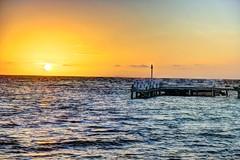 HDR - 430fuse (mastrfshrmn) Tags: ocean sea panorama sun moon beach water colors canon stars island photo sand scenery paradise belize picture palmtrees hut photograph cabana tropical hdr kayaks centralamerica atoll 70d turneffeisland turneffeatoll blackbirdcaye