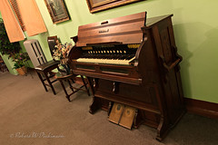 Organ at Jerome Grand Hotel (eoscatchlight) Tags: arizona haunted organ jerome jeromegrandhotel