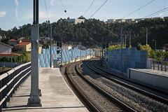 Trofa IV (Tiago Alves Miranda) Tags: portugal station track railway via estao linha tro trofa caminhodeferro linhadominho tiagoalvesmiranda p99563