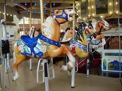 Herschell Horses (BunnyHugger) Tags: ohio horse carousel sandusky herschell merrygoroundmuseum