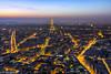 Paris (renan4) Tags: city trip travel paris france rooftop night nikon europe cityscape tour view toureiffel bluehour nikkor montparnasse renan d800 toits 1635mm gicquel renan4