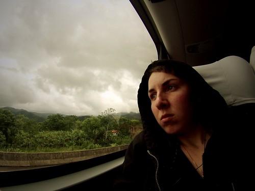 Sur la route, Parana, Brésil