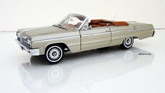 1964 Chevrolet Impala SS 409 Convertible (JCarnutz) Tags: chevrolet 1964 409 diecast 124scale impalass wcpd