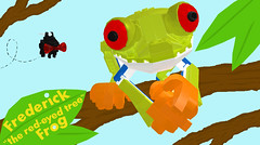 1 - frederick the red eyed tree frog (buggyirk) Tags: red tree animal eyes rainforest lego frog frogs projects frederick moc afol redeyed cuusoo agalychnis callidryas buggyirk jiminyc