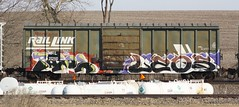 Pasoe/Leqs (quiet-silence) Tags: railroad art train graffiti railcar boxcar graff freight mrl fr8 ftw pasoe leqs mrl21250