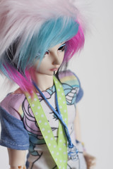 IMG_0119 (angelwulf_BJD) Tags: hello rainbow doll kei little pastel goth kitty fairy pony dash resin mad fairyland scientist msd balljointed karsh mnf faceup minifee
