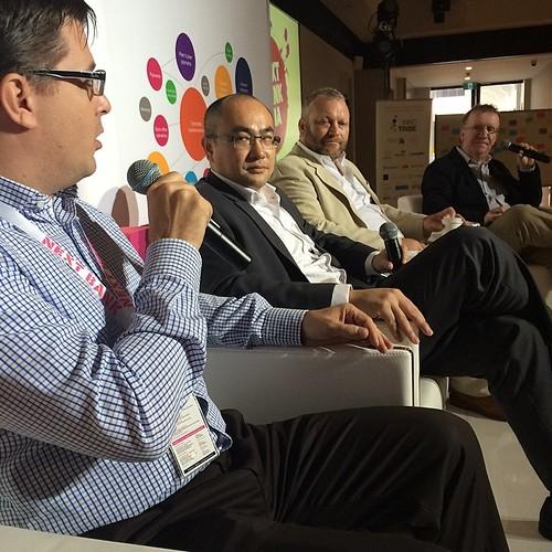 Open #innovation panel #nbasg14 @neal_x @jonathanbriggs @danaritter3 Ed Ho