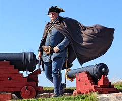 Louisbourg defender (Starkrusher) Tags: garrison cabottrail britishsoldiers fortresslouisbourg canadiangovernment frenchsoldiers novascotial