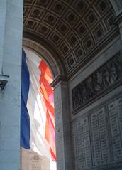 Vive la France! (chrisroach) Tags: paris france champselysees arc arcdetriomphe tricolour tricolore