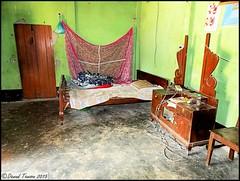 A Workers Bed room in old House at Khan Bari (dark-dave) Tags: life bed bedroom asia village room culture oldhouse sylhet bangladesh basic wayoflife sleepingquarters thisislife nabiganj khanbari kalaborpur sylhetvregion