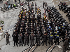 Stolen election (Kaew ~one&only~) Tags: thailand bangkok protest police dictator junta activists thaicoup blackvalentine