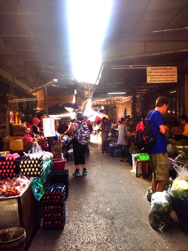The morning market in Hua Hin