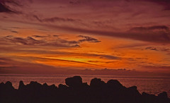 Sonnenuntergang auf La Palma (fotoculus) Tags: sunset españa meer sonnenuntergang canarias espana lapalma canaryislands spanien abendhimmel abendstimmung kanarischeinseln diascans urlaubsreise1991