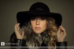Vintage portraits (Francesco Carta) Tags: winter portrait woman look hat fashion vintage pose studio 50mm model nikon flash felt bowens tempiopausania francescocarta phpgrapher
