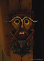Borg_Thor_November_2014 (LyonelPerabo) Tags: wood old sculpture art history norway hammer museum norge artwork mask god borg north arctic age sacred gods thor northern viking lofoten ages reconstruction preservation pagan norse heathen wodden nordland northnorway lofotr reconstitution vestvgy vestvagoy vikingage oldnorse polytheist rr medievalnorse