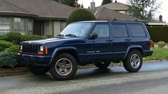 Jeep Cherokee Classic (Custom_Cab) Tags: door 2001 blue canada classic station wheel sport truck wagon four drive 2000 jeep 4x4 4 1996 4wd utility canadian 1999 vehicle 1998 cherokee chrysler suv xj 4door