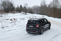 Jeep Renegade launch event (Janitors) Tags: winter snow jeep offroad suv renegade jeeprenegade winteroffroad jeeprenegadelaunchevent