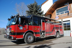 Eagle River Fire Protection District Engine 7 (zamboni-man) Tags: city winter mountains public creek river fire town skiing village state eagle cities rocky police battle villages beaver valley vail gore sheriff championships towns ems avon command patrol fis whelen 2015 safey