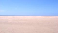Flat (16:9clue) Tags: seascape beach landscape sand flat widescreen sandy fuerteventura horizon wide playa espana pointandshoot 169 pointshoot widest horizonline beachphotography playasotavento sotaventobeach 169clue