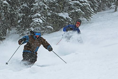Triple Creek Ranch Downhill Skiing