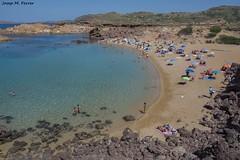 LA CALA BINIMELLA (Menorca, agost de 2015) (perfectdayjosep) Tags: beach playa spiaggia menorca platja balears illesbalears minorica perfectdayjosep calabinimellam