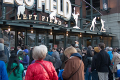 Bernie Again (6 of 13) (evan.chakroff) Tags: seattle field washington election unitedstates baseball stadium political politics rally crowd presidential safeco candidate safecofield bernie primary sanders march25th 2016 berniesanders primaryseason feelthebern