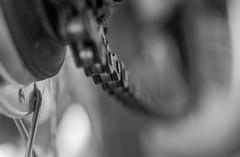 Chain Link Embedded in Endlessness (gporada) Tags: blackandwhite macro bike dof bokeh infinity depthoffield chain chainlink nahaufnahme creamy schrfentiefe oss bikechain 2016 manualmode endlessness kettenglied imagestabilization extensiontubes vintagelens einfarbig schwarzweis leadingline unendlichkeit oldlens trioplan steadyshot creamybokeh zwischenringe cremig meyeroptikgrlitz wideopenshot world100f endlosigkeit phvalue sonyphotographing sonya7ii bildstabilisierung sonyilce7m2 gporada uncompressedraw