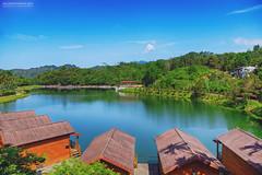 (M.K. Design) Tags: travel lake nature landscapes nikon scenery taiwan bluesky reservoir reflected  yuchi  hdr   nantou   2016             afs2470mm28g d800e