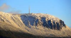Winter has arrived (elliott.lani) Tags: sky mountain snow mountains nature landscape outdoors skies lani allrightsreserved naturephotography mountwellington kunanyi elliottlani lanielliott