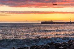 DSC_0226 (sergeysemendyaev) Tags: sunset sea storm beach spring warm waves russia dusk adler atthebeach seashore blacksea seacoast bigwaves sochi  2016                 duringf1 1 duringformulaone