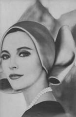 Estee Lauder 1965 (moogirl2) Tags: vintage mod retro 1960s 1965 vouge esteelauder vintageads 60sfashion vintagevogue