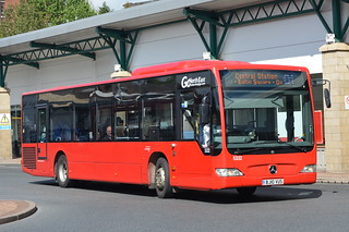 5332 BJ10 VUS Go North East Mercedes Citaro on the Q1 to Central Station