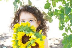 Gianna_0160 (Ciara*) Tags: girl kid toddler smiles cutie niece sunflower