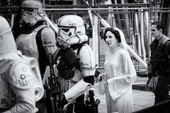 You're my only hope (Ian Livesey) Tags: starwars leeds leia 2015 20160522