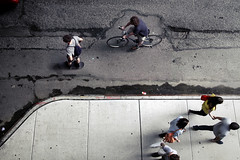 Everywhere to Go, and Nowhere (drp) Tags: street nyc people ny newyork manhattan fromabove humans commuters inhabitants