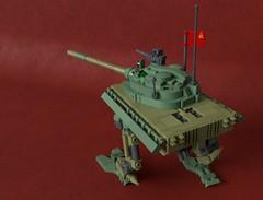 -55 (Sunder_59) Tags: tank lego render military scifi mech moc blender3d dieselpunk mecabricks