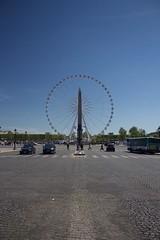 The Luxor Obelisk, Place de la Concorde, Paris (annelaurem) Tags: street paris france place bluesky champselyses placedelaconcorde pav loblisque theluxorobelisk