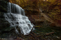 Spring at Lower DeCew Falls (awaketoadream) Tags: ontario canada water waterfall spring long exposure niagara falls lower cascade escarpment thorold decew