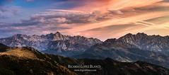 Picos de Europa (cortu) Tags: red rojo pentax amanecer cantabria picosdeeuropa sanglorio colladodellesba libana wwwrlopezblancocom ricardolpezblanco horacrepuscular