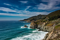 Point Lobos Coast (Maxinux40k) Tags: ocean california sky beach nature water june landscape outdoors coast spring nikon nikkor pointlobos 2016 d810 afs35mmf18ged mitchellcipriano