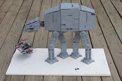 AT-AT Walker (brick_builder7) Tags: terrain snow feet foot starwars all lego legs 5 five transport walker empire stormtrooper sw armored episode atat empirestrikesback hoth snowspeeder brickbuilder7