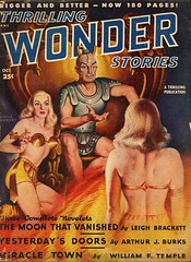 Thrilling Wonder Stories - Oct 1948 (swallace99) Tags: sf vintage magazine scifi sciencefiction pulp thrillingwonderstories earlebergey