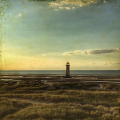 Talacre and the leaning lighthouse (proleb) Tags: