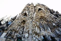Sagrada Familia (HDH.Lucas) Tags: barcelona spain cathedral lucas gaudi sagradafamilia