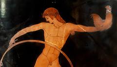"ZEUS' Loves – XVII: Ganymede (Egisto Sani) Tags: paris art ceramic greek arte louvre athens du zeus crater amphora di attic pottery parigi attica ganymede greca krater cratere vasi anfora atene ""g ""berlin ""musée ganimede louvre"" figure"" painter"" berlino"" ""figure rosse"" 175"" ""pittore ""lugged krater""""red"