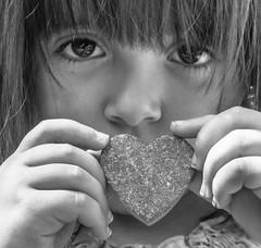 Happy Father's Day! (Kat Hatt) Tags: bw ontario love home girl outdoors heart granddaughter browneyes zara 4yearsold napanee kathatt
