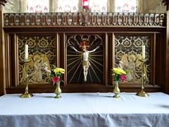 Carew, Pembrokeshire (Sheepdog Rex) Tags: reredos altars stmaryschurch carew